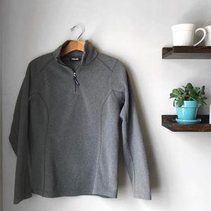 Kirkland Signature Fleece Sweater  1/4 Zip